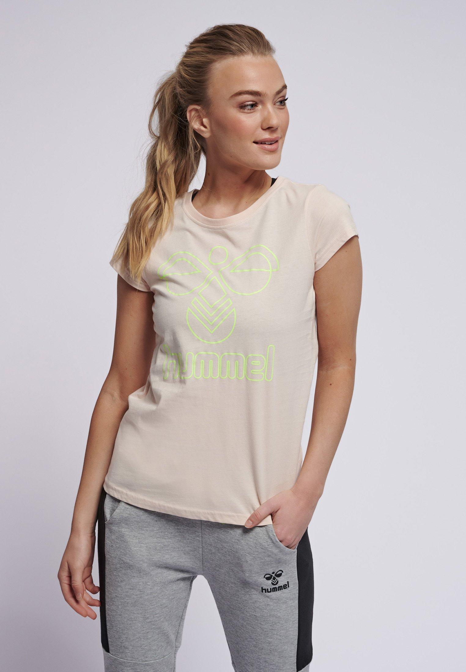 Damen HMLSENGA - T-Shirt print