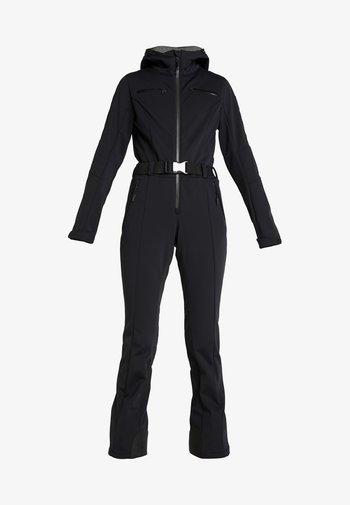 CAT SKI SUIT - Ski- & snowboardbukser - black