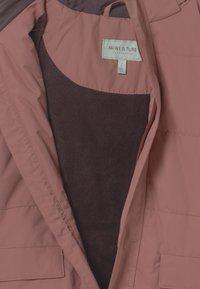 MINI A TURE - VINNA - Winter coat - wood rose - 3