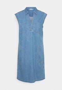 Marc O'Polo - DRESS TUNIQUE STYLE   - Shirt dress - blue denim - 6