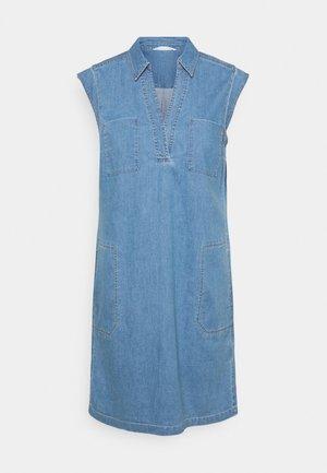 DRESS TUNIQUE STYLE   - Košilové šaty - blue denim