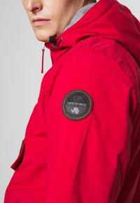 Napapijri - RAINFOREST POCKET  - Winter jacket - red tango - 5
