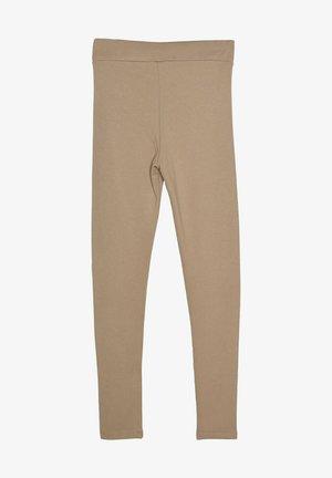 Leggings - Trousers - beige