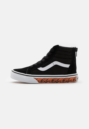 SK8 ZIP - Baskets montantes - black