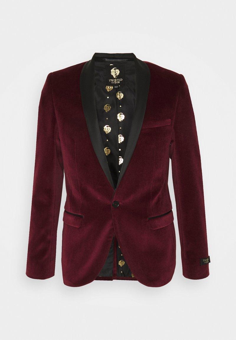 Twisted Tailor - CALCOTT - Giacca elegante - burgundy