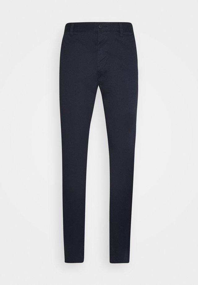 BAS - Chino kalhoty - navy
