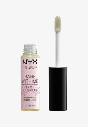 BARE WITH ME CANNABIS OIL LIP CONDITIONER SHEER LEAF - Läppglans - 01 clear