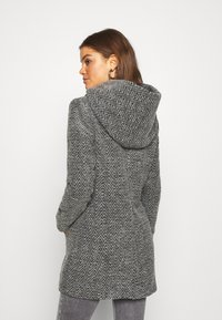 ONLY - ONLZIENA HOODED COAT  - Cappotto classico - black/melange - 2