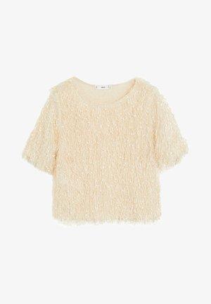 FURRY - Blouse - beige