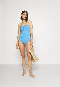 Marks & Spencer London - MAGIC BANDEAU - Swimsuit - blue - 1