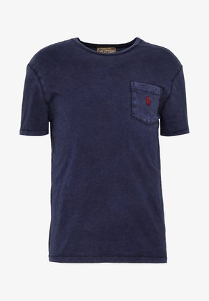 SLUB - Basic T-shirt - cruise navy