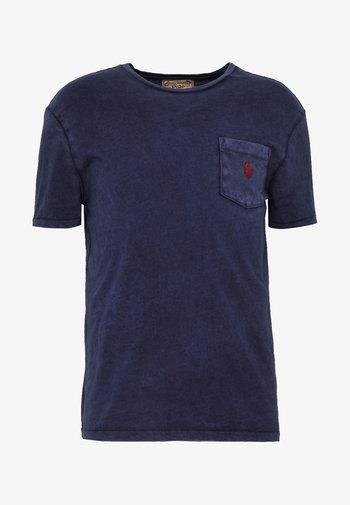 SLUB - Basic T-shirt - cruise navy