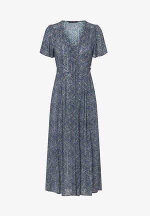 LONG LILAC FLORAL - Day dress - dark blue