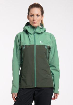 SPIRA - Hardshell jacket - trail green/fjell green