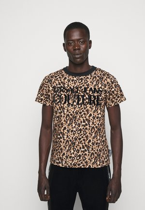 LEO - Print T-shirt - brown