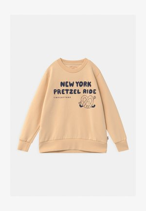 PRETZEL RIDE UNISEX - Sweatshirt - cream/light navy