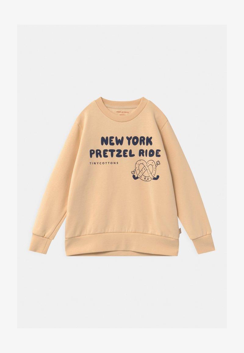 TINYCOTTONS - PRETZEL RIDE UNISEX - Sweatshirt - cream/light navy