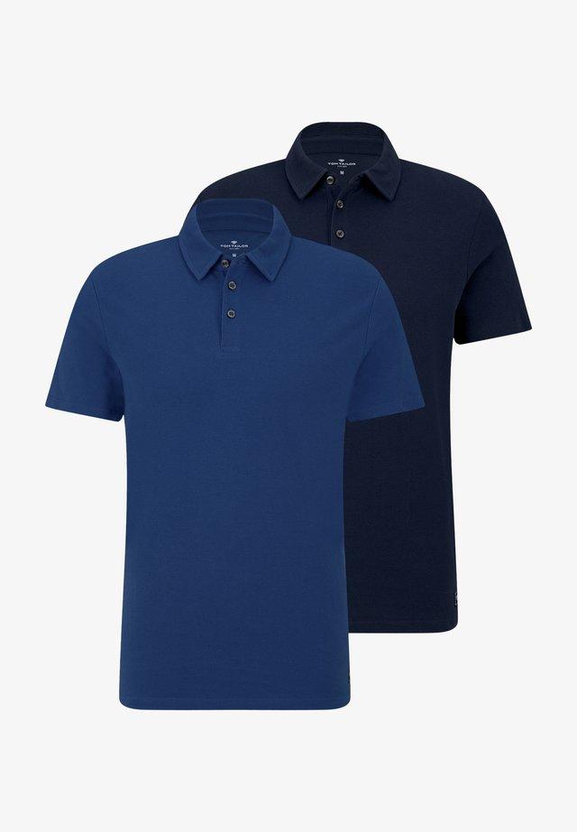 2 PACK - Poloshirt - dark blue