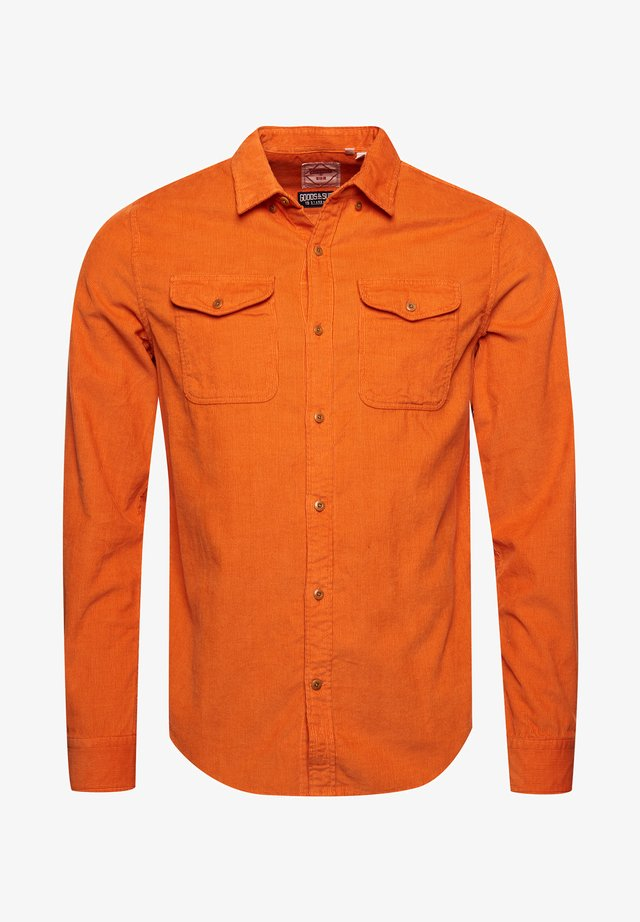 COMMUTER  - Shirt - rust cord
