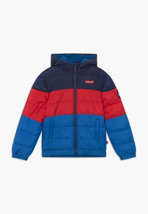 COLORBLOCK PUFFER - Winterjacke - prince blue