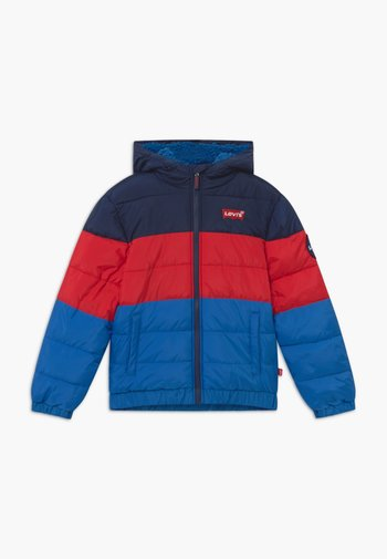 COLORBLOCK PUFFER - Winter jacket - prince blue