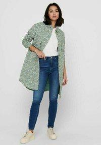 ONLY - Short coat - desert sage - 1