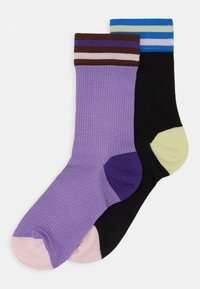 Hysteria by Happy Socks - LONA CREW SOCK 2 PACK - Calcetines - multi-coloured - 0