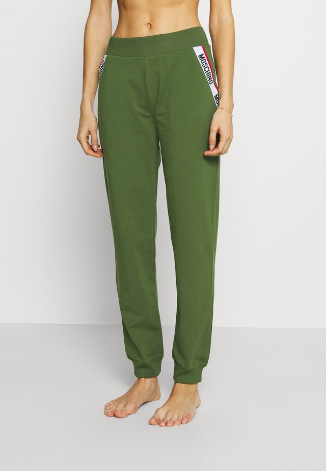 PANTS - Pyjamabroek - military green