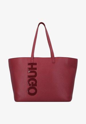 Tote bag - dark red