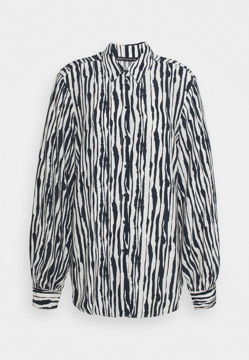Expresso - CARLETTA - Button-down blouse - indigo