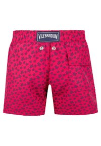 Vilebrequin - MICRO ROUND OF TURTLES - Swimming shorts - gooseberry red - 1