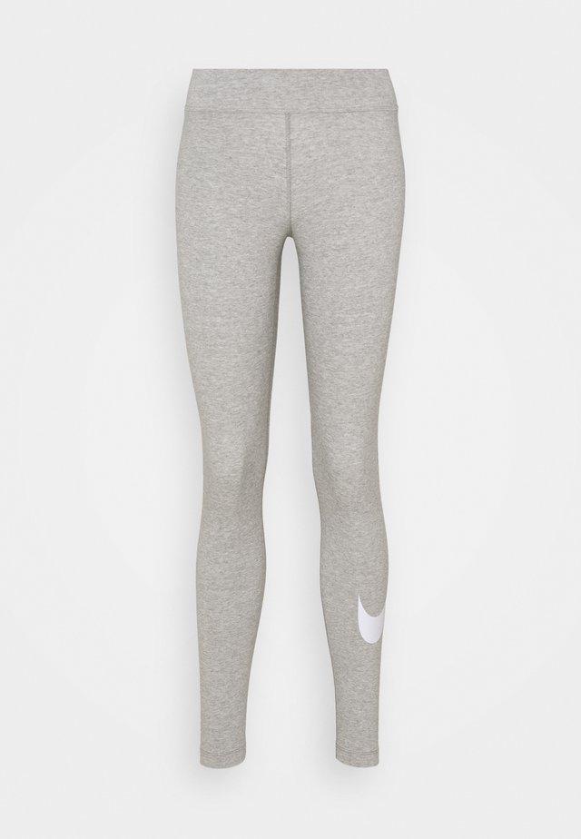 Legging - grey heather/white