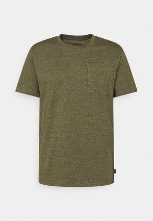 Basic T-shirt - dark khaki