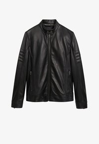 Mango - Leather jacket - noir - 5