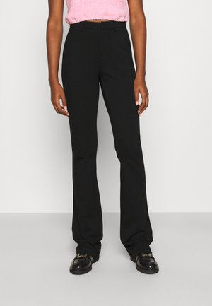 ONLELORAVIKA FLARE PANT - Pantaloni - black
