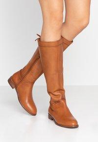 mint&berry - Boots - cognac - 0