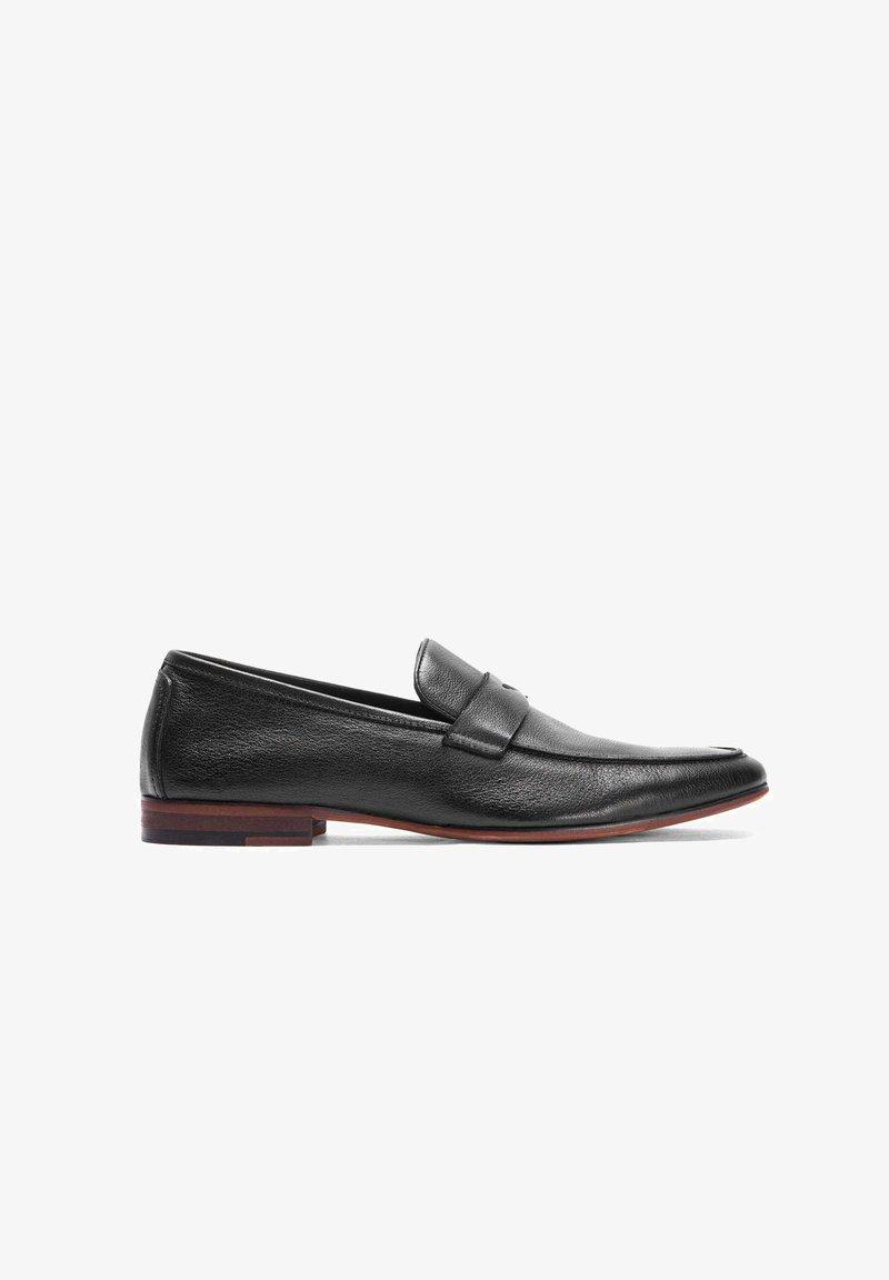 Kazar - SAKAR - Elegantní nazouvací boty - black
