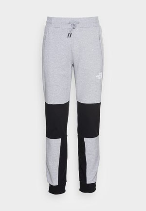 HMLYN PANT - Tracksuit bottoms - light grey heather