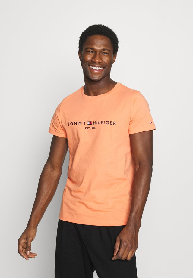 LOGO TEE - T-shirt med print - summer sunset