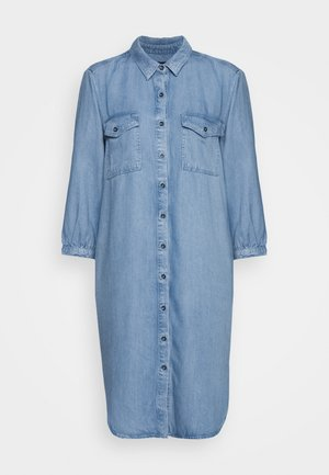 ELDORA - Denimové šaty - hellblau denim