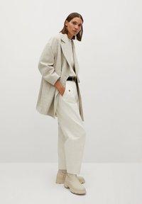 Mango - WILLY - Short coat - beige - 1