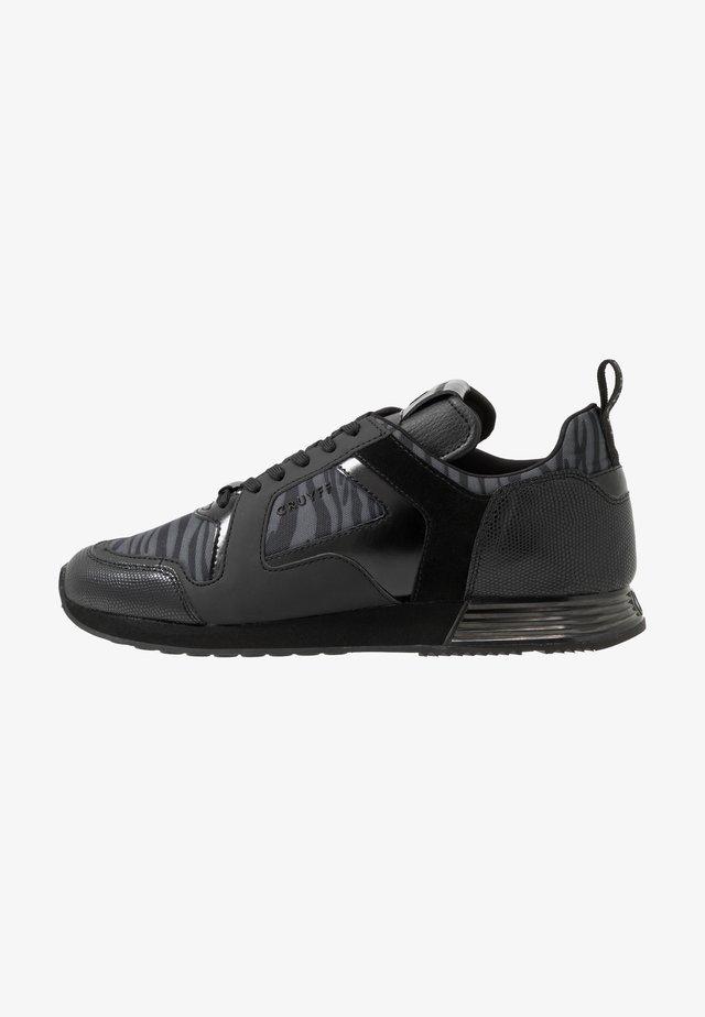 LUSSO ZEBRA - Sneakers basse - dark grey