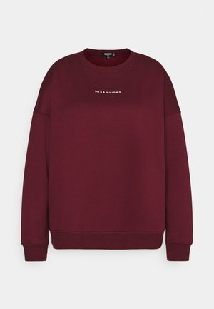 BASIC - Sweatshirt - wine