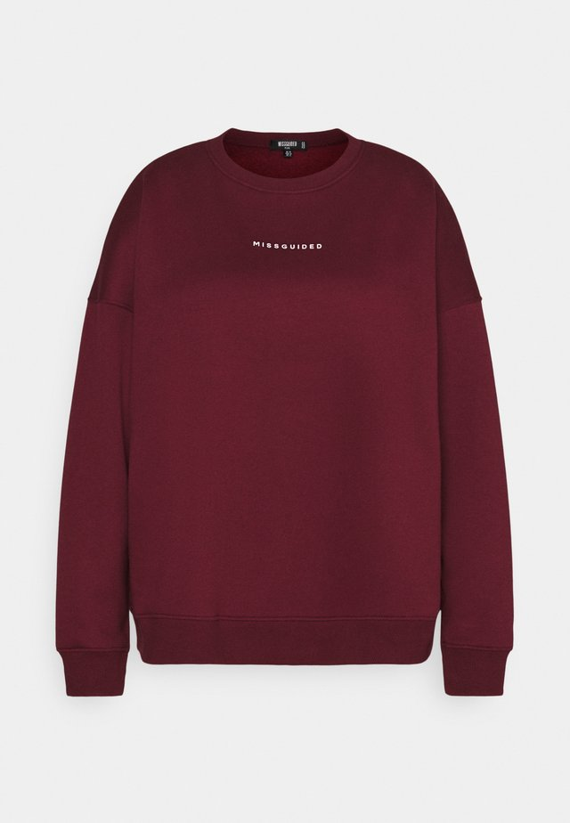 BASIC - Sweater - wine