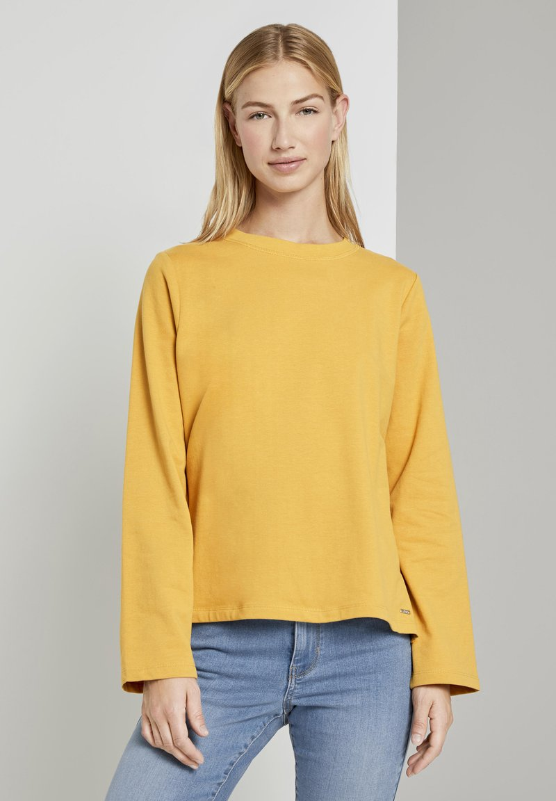 TOM TAILOR DENIM - COZY  - Sweatshirt - indian spice yellow