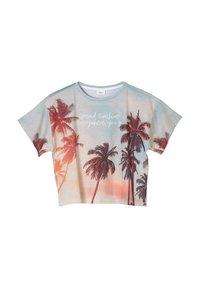 s.Oliver - Print T-shirt - light blue - 2