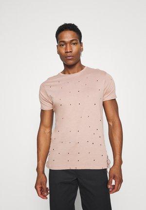 Basic T-shirt - dirty pink
