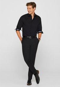 Esprit Collection - SLIM FIT - Formal shirt - black - 1