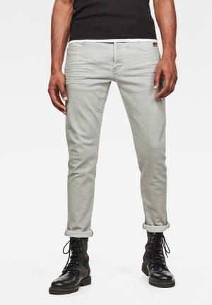 G-BLEID SLIM - Trousers - lt orphus wave dyed
