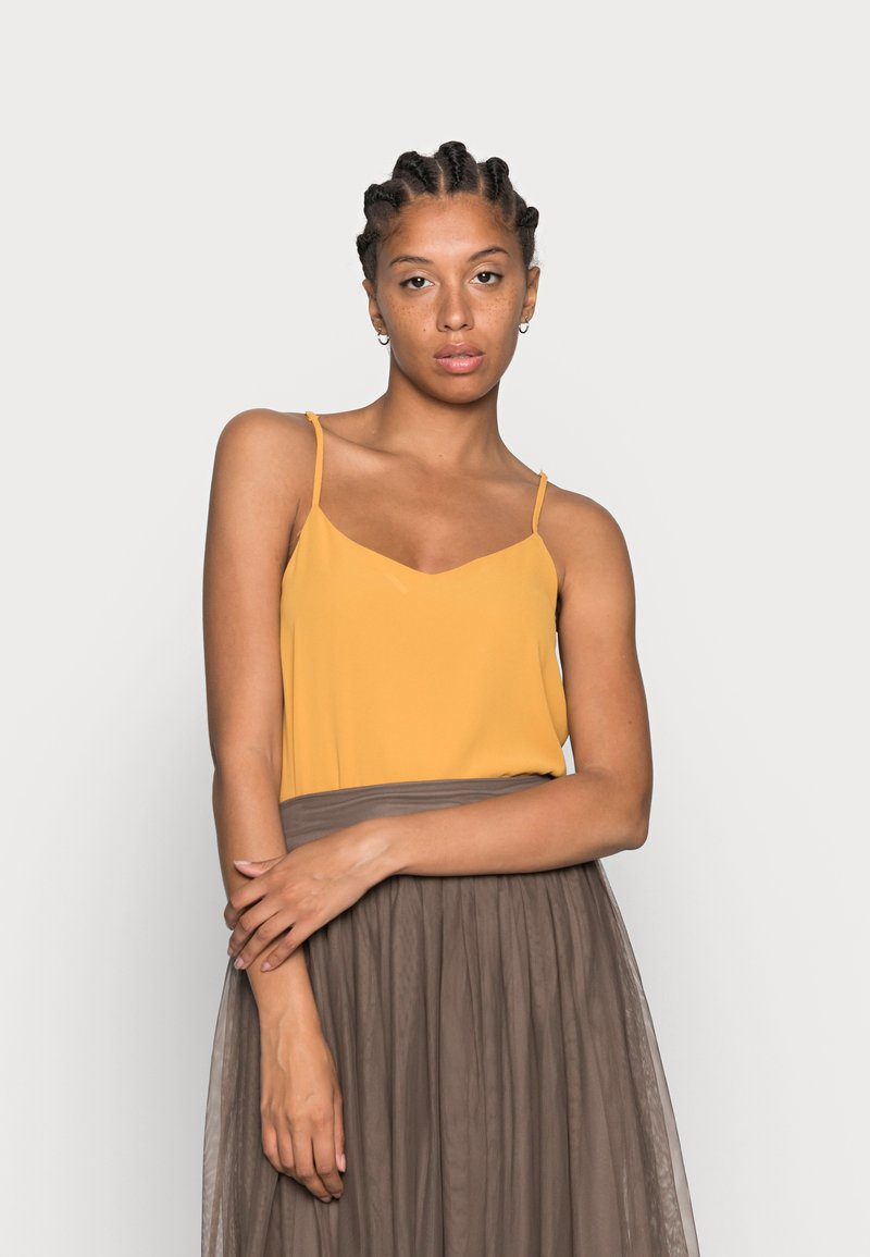 ONLY - ONLMOON SINGLET - Top - mango mojito